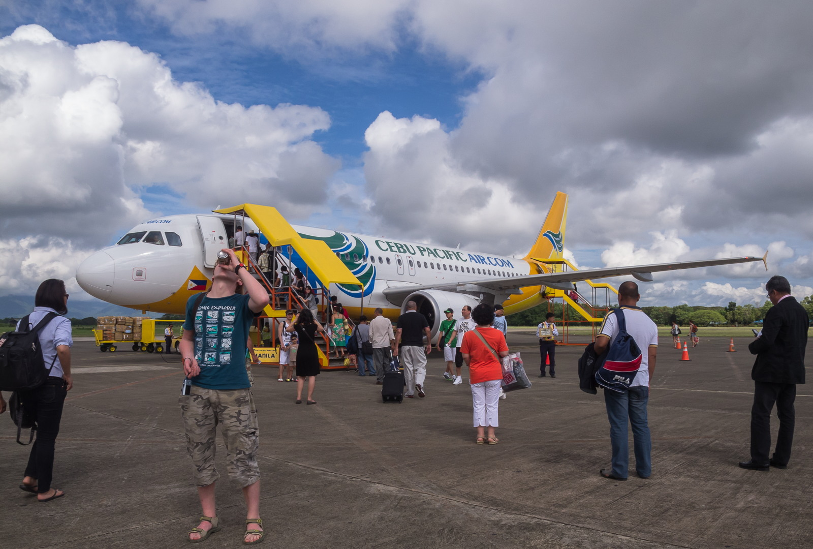 Sebu Pacific's airplane, Philippines