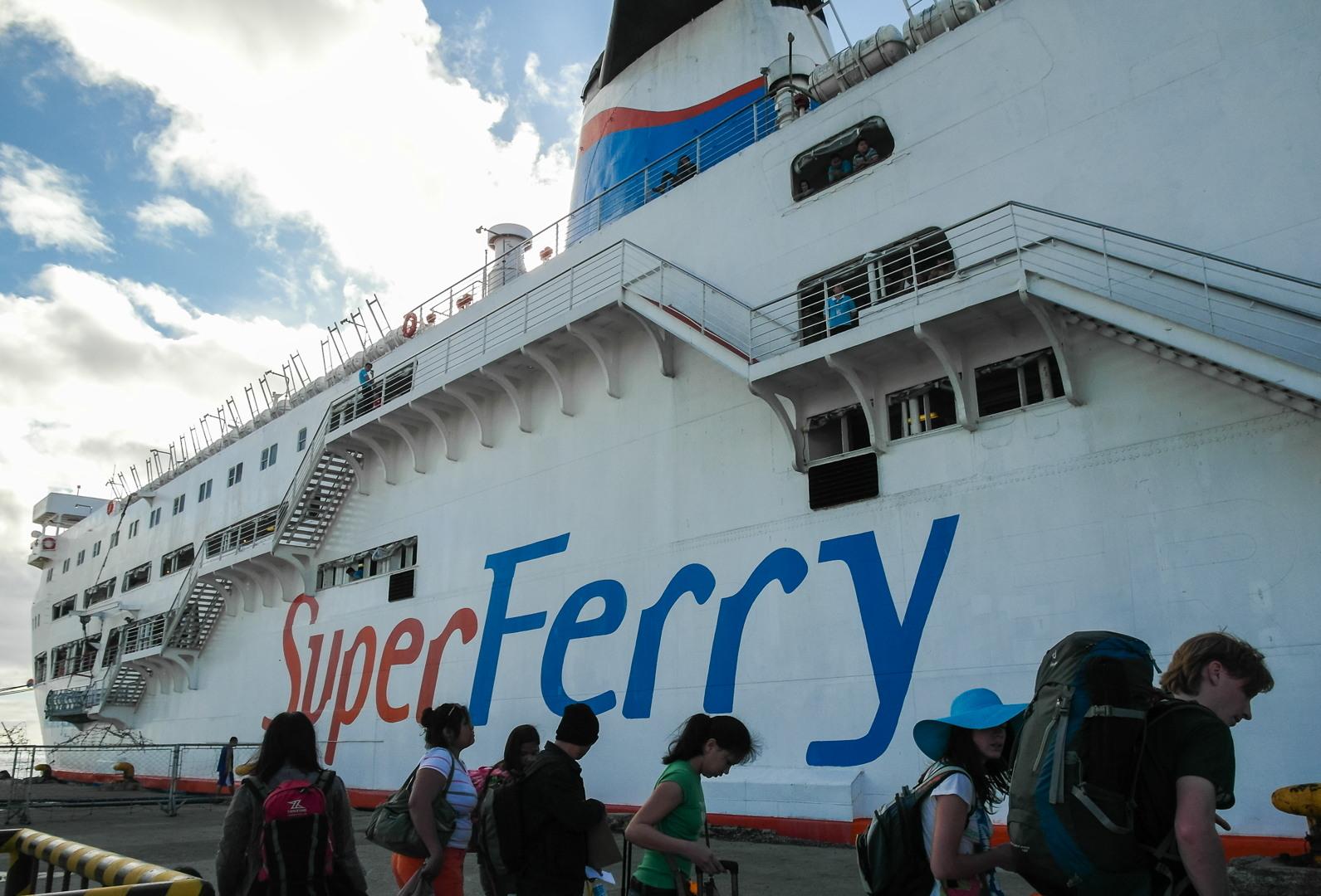 Ship Super Ferry, Philippines