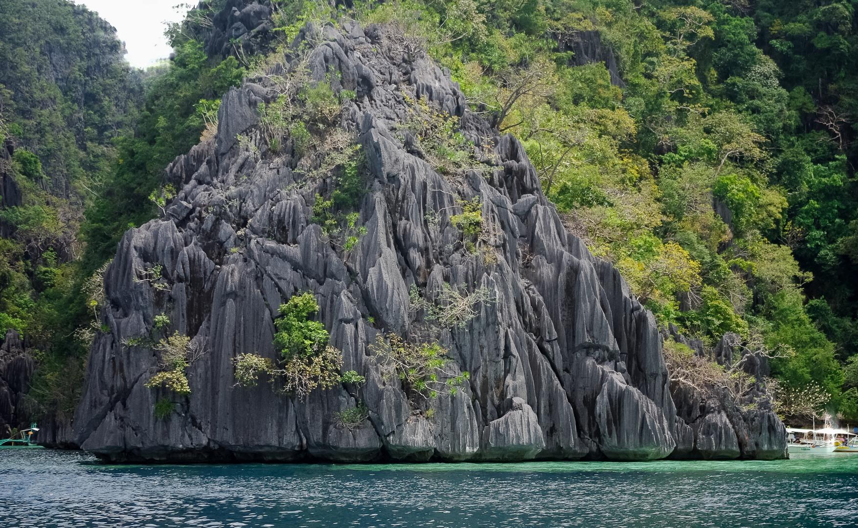 Island near Lake Barracuda, Philippines