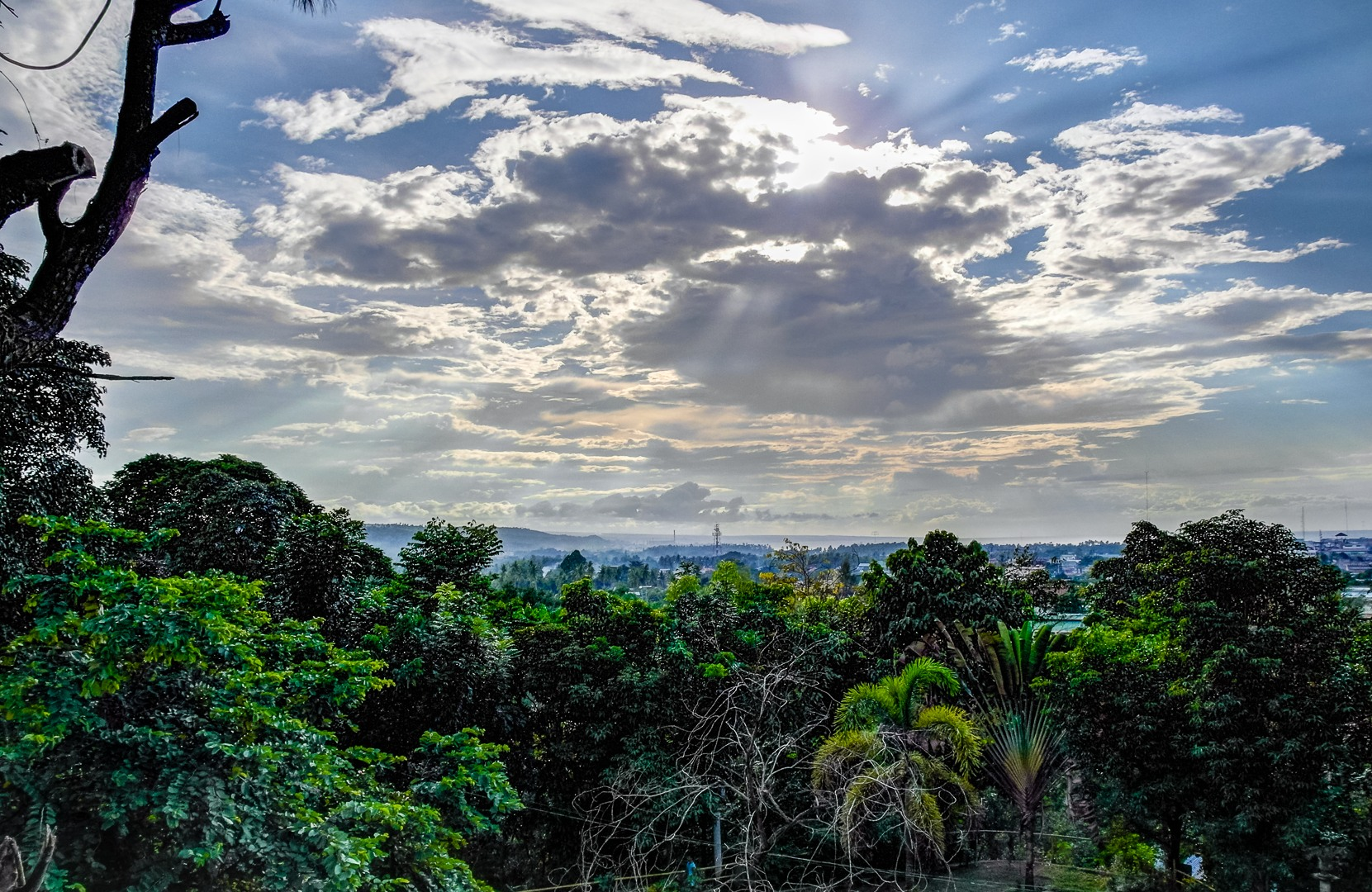 Iligan hill, Philippines