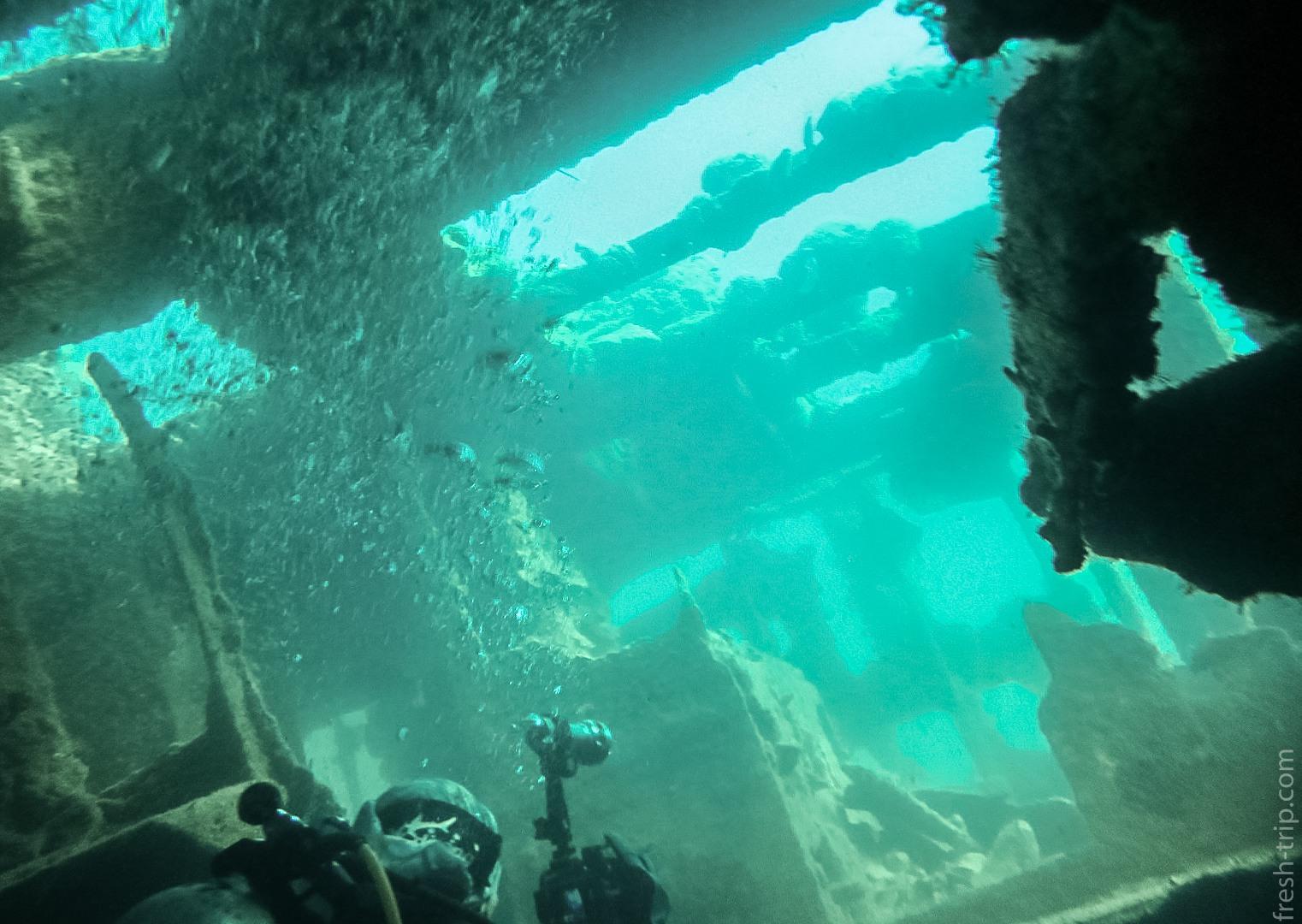 Ship Tangat Gunboat Wreck, Philippines