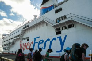 Ship Super Ferry, Philippines