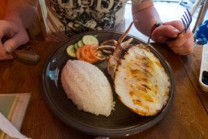 Обед из каракатицы, Эль-Нидо, Филиппины